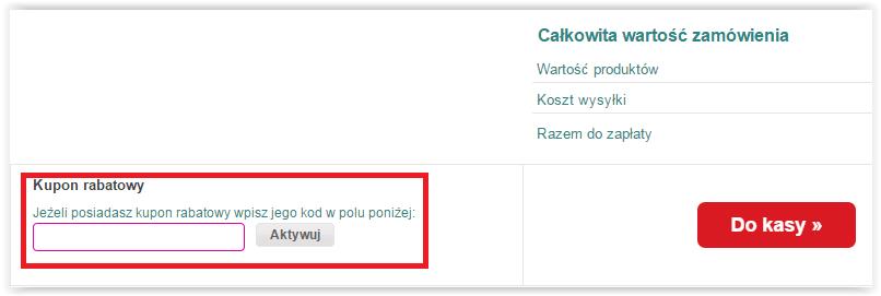 Jak skorzystasz z kodu rabatowego