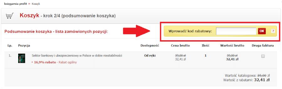 Kod rabatowy na Profit24.pl