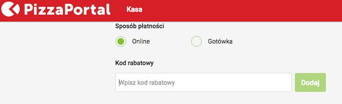 Jak korzystać z PizzaPortal i kodów rabatowych