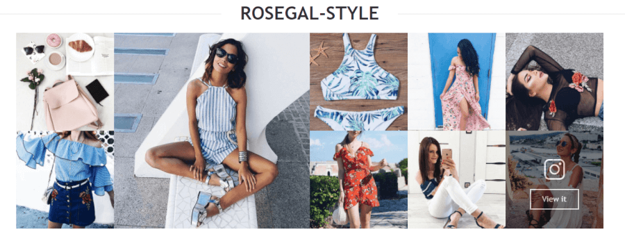 instagram sklepu RoseGal