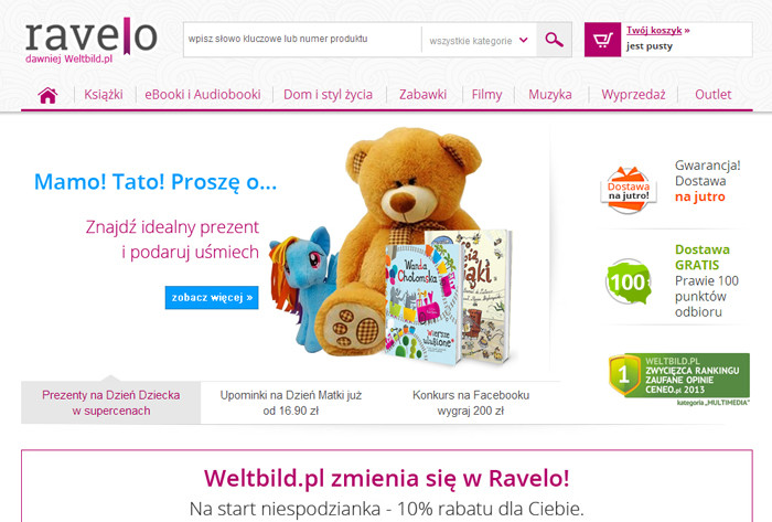Najlepsze kody rabatowe do sklepu Ravelo