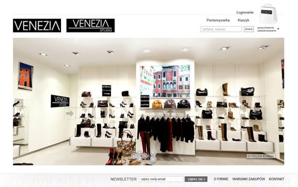 Zakupy w sklepie Venezia z kodami rabatowymi
