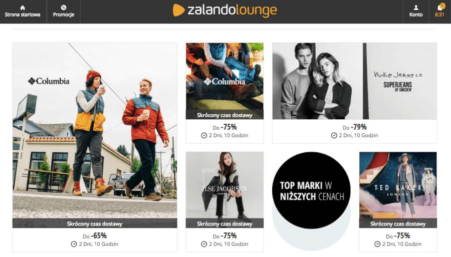 """""""Super promocje w Zalano Lounge""""/"""