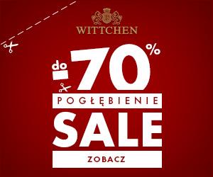 Wyprzedaż do 70% w WITTCHEN!