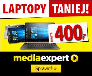 Laptopy taniej do 400 zł