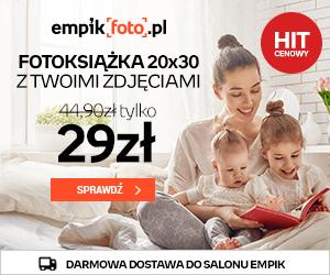 Fotoksiążka za 29 zł w EmpikFoto!