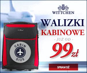 Walizki od 99 zł w WITTCHEN!