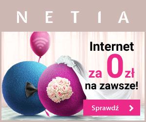 Internet za 0 zł w Netia!