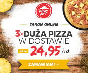 Gorąca promocja w PizzaHut!