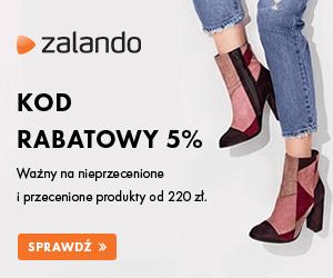 Kod rabatowy 5% w Zalando