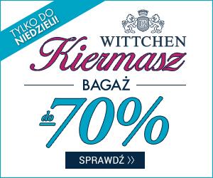 Wielki Kiermasz bagażu do -70%!