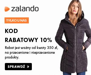 Kod rabatowy 10% w Zalando