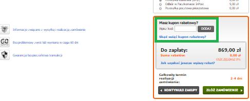Jak wykorzystać kod rabatowy na zakupy w CentrumRowerwe.pl
