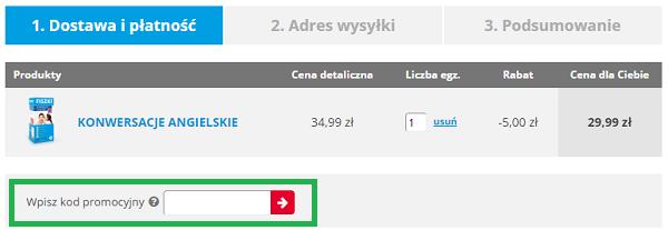 Jak wykorzystać kod rabatowy na Fiszki.pl?