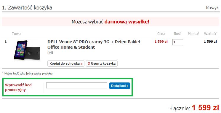 Jak wykorzystać kod rabatowy w Komputronik.pl
