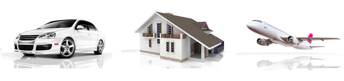 Ubezpieczenia komunikacyjne, domu i mieszkania, turystyczne