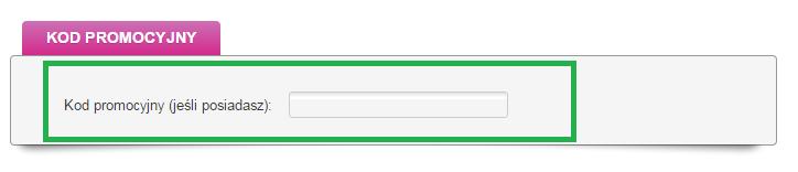 Jak wykorzystać kod rabatowy w Link4