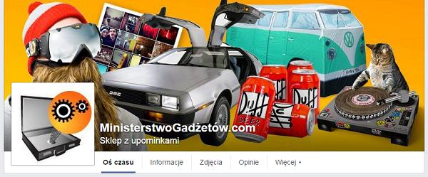 Ministerstwo Gadżetów na Facebooku