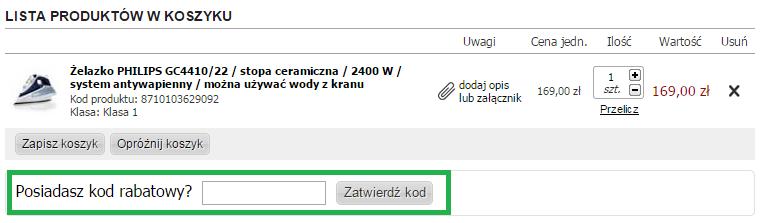 Jak skorzystać z kodu rabatowego w OutletRTVAGD.pl