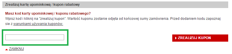 Jak wykorzystać kod rabatowy w Redcoon.pl?