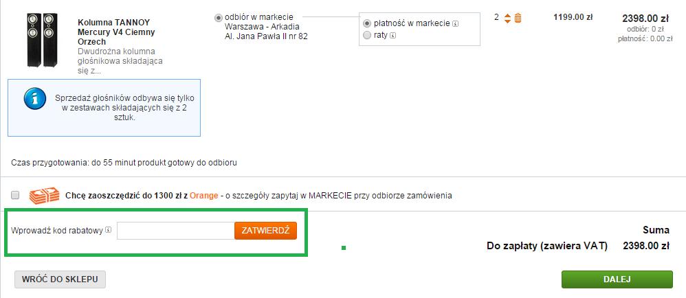 Jak wykorzystać kod rabatowy na Saturn.pl?