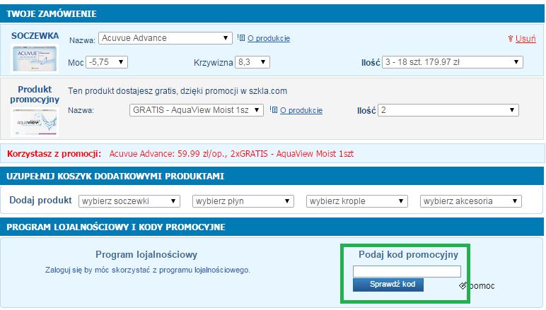 Jak wykorzystać kod rabatowy w Szkla.com?