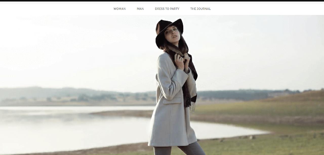 Página inicial do site da Decenio