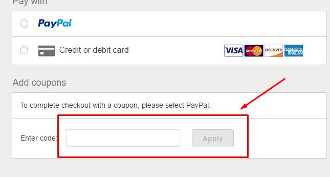 Como aplicar o código promocional Ebay