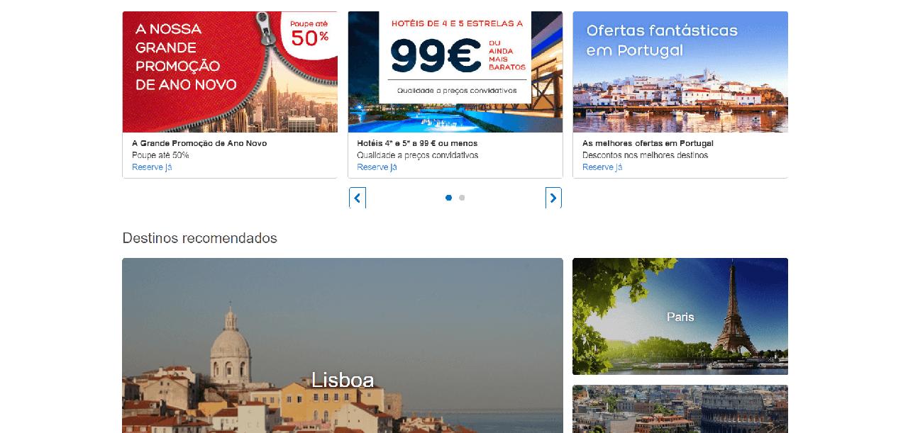 Várias ofertas de alojamento a preços baixos no Hoteis.com