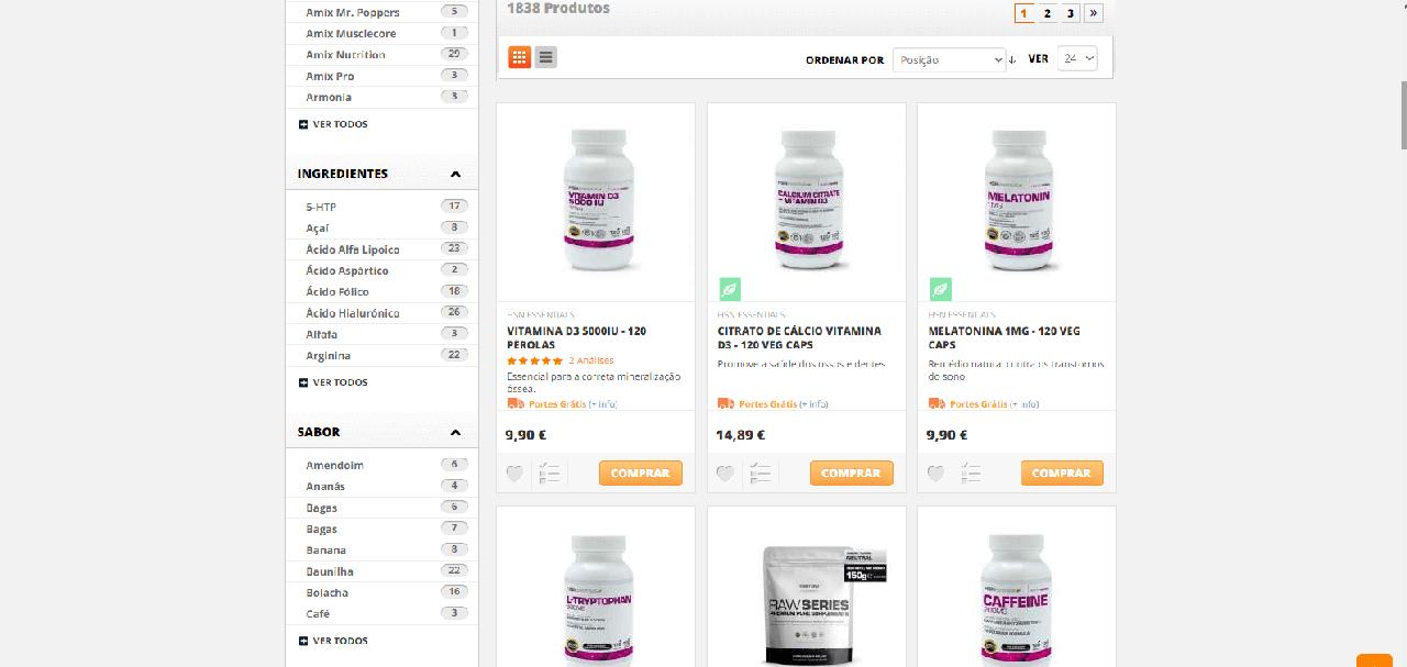 Vários produtos de parafarmácia a preços bastante baixos