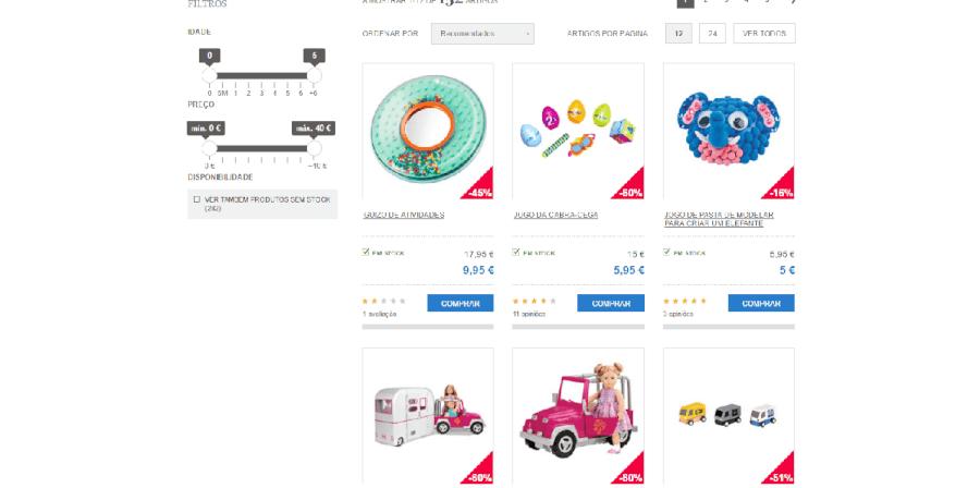 Diversos descontos em brinquedos na Imaginarium