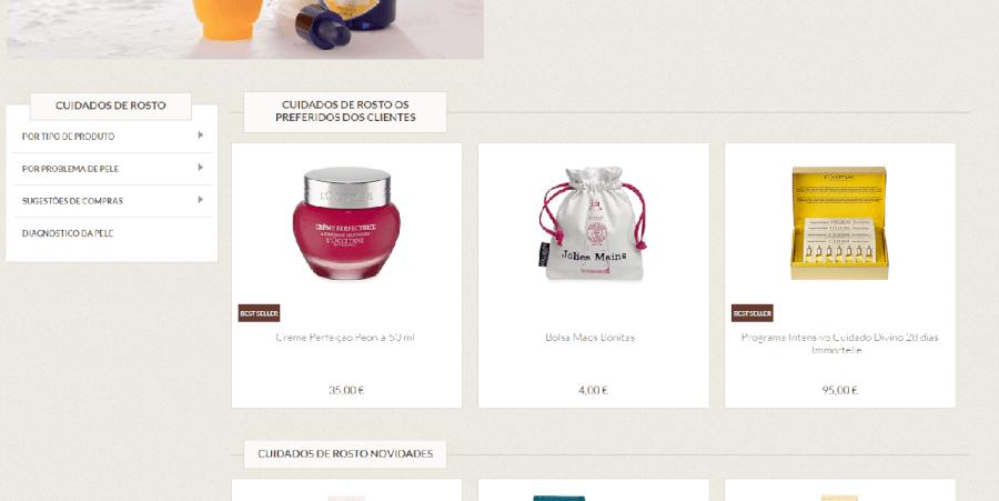Diversos produtos a preços bastante baixos