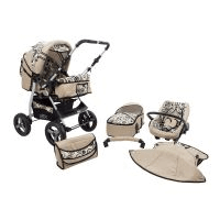 cărucior, scoică și landou