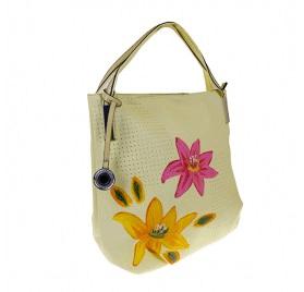 geantă cu flori