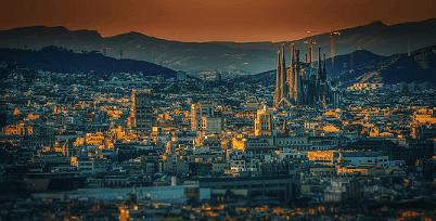vedere din Barcelona