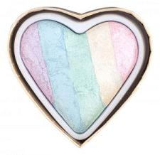 iluminator colorat în formă de inimă