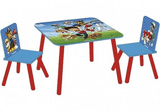 măsuță și 2 scaune