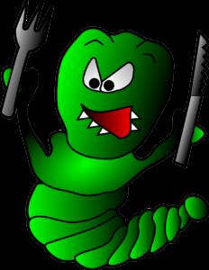 голодный червяк