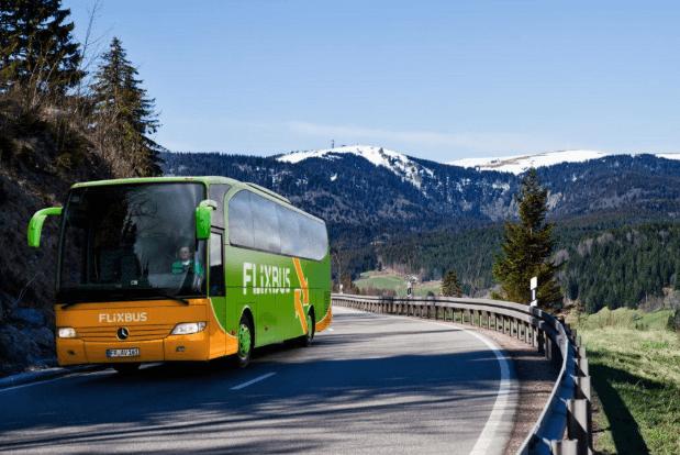 Автобусы FlixBus в Европе