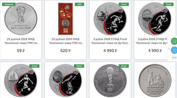 Монетник — каталог