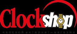 Логотип Clockshop на прозрачном фоне