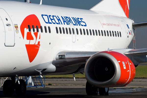 Самолёт Czech Airlines