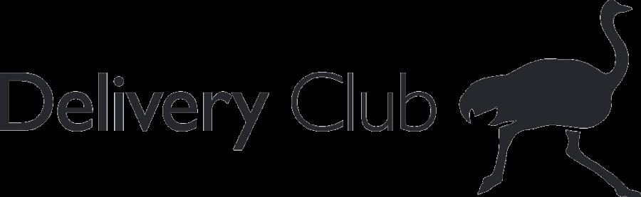 Логотип Delivery Club прозрачный