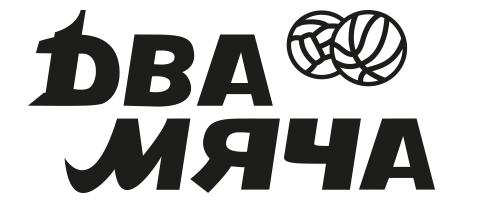 Логотип Два мяча