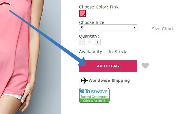 Как воспользоваться кодом купона в корзине сайте Fashionmia