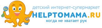 Логотип интерне-магазина Helptomama