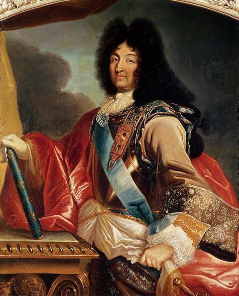 Картина - Людовик XIV