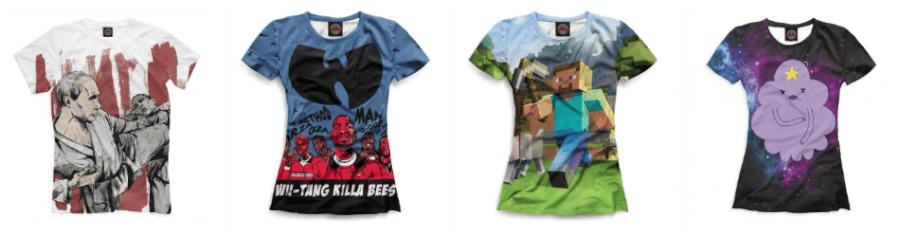 В ПринтБар можно сделать футболку