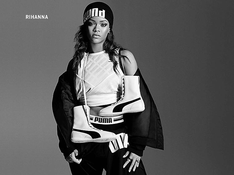 Puma — выбор Rihanna