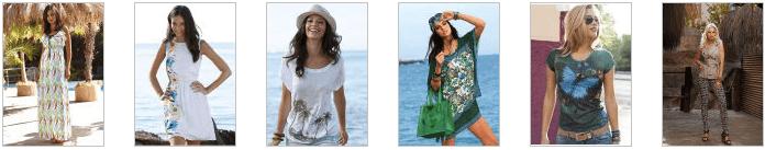 Женская одежда в Quelle